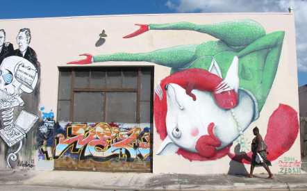 Miami street art tour