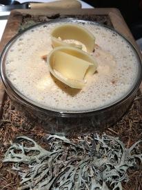2 La polenta crémeuse aux cèpes