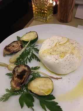 2 Burrata di Andria et ses petits légumes