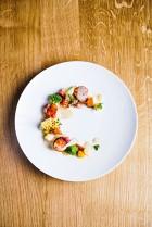 Loiseau des Sens- Saint jacques mi- cuites, vinaigrette exotique @FranckJuery