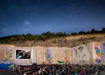 Soirée cinéma en plein air à La Karrière® - Photo Michel Joly